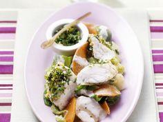 Fischragout mit Gemüse und Gremolata | http://eatsmarter.de/rezepte/fischragout-mit-gemuese-und-gremolata