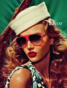 Dior Spring 2011 Campaign. Karlie Kloss. Steven Meisel.