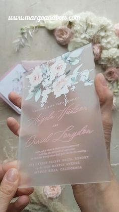 Modern wedding invitations with pastel flowers wedding videos Romantic wedding invitaitons Perfect Wedding, Fall Wedding, Diy Wedding, Wedding Ceremony, Gown Wedding, Wedding Rings, Wedding Blush, Handmade Wedding, Wedding Makeup