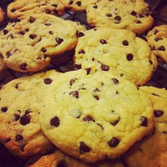 Dairy Free Chocolate Chip Cookies « milk free mom - I used coconut butter and eggs from my chickens.  For teaspoon sized cookies, cook only 12 minutes.