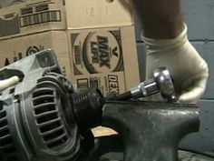 Alternator Pulley Clutch Tool - Removal - YouTube