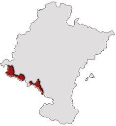 Zona amparada de Vino de Rioja