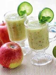 Elma-Armut Smoothie Tarifi - İçecekler Yemekleri - Yemek Tarifleri