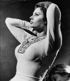 """Sophia Loren en """"El Cid"""", 1961"""