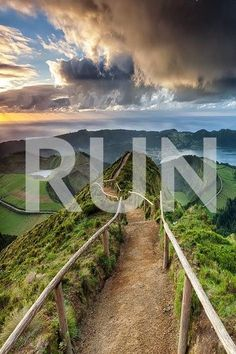 RUN. Discover new beautiful places!