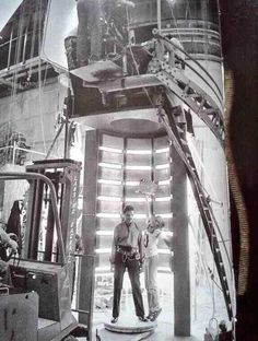 Lando on set