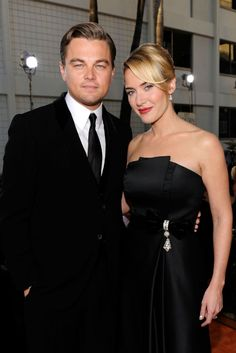 Kate Winslet & Leo DiCaprio so when the heck are they finally going to accept the fact that they are made for each other?