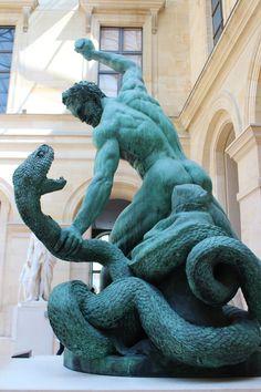 Hercules, Musee du Louvre, Paris I REMEMBER SEEING THIS