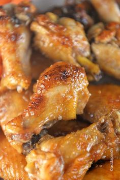 Chicken Wings make a favorite appetizer or meal and these easy chicken wings are a definite hit. Sweet and spicy, you'll love this simple recipe.