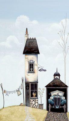 His Place by Gary Walton, Art Print