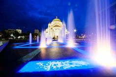 Sava temple ,Belgrade(the second biggest Orthodox Church in the world ) Belgrade Serbia, Timeline Photos, Temple, Two By Two, Mansions, House Styles, World, Building, Travel