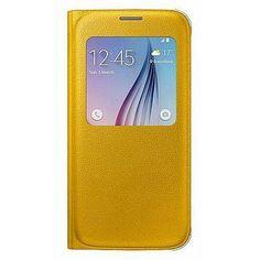 Чехол для смартфона Samsung Galaxy S6 SM-G920F желтый (EF-CG920PYEGRU) (EF-CG920PYEGRU)  — 2645 руб. —  Для Samsung Galaxy S6. Желтый. Синтетический.