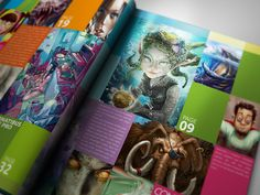 Book Layout Inspiration by Lemongraphic 1
