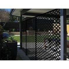 Find Matrix 2410 x 1205 x Charcoal Sahara Décor Screen Panel at Bunnings Warehouse. Visit your local store for the widest range of garden products. Outdoor Rooms, Outdoor Living, Decorative Screen Panels, Privacy Screen Outdoor, Divider Screen, Unique Gardens, Covered Pergola, Screen Design, Back Patio