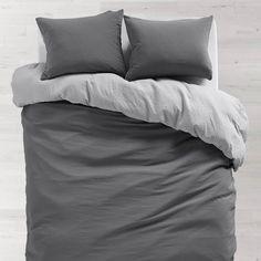 Best Room Decor For Teen Girls Grey Duvet Covers Ideas Best Bedding Sets, Queen Bedding Sets, Luxury Bedding Sets, Comforter Sets, Modern Bedding, King Comforter, Dark Grey Bedding, Grey Duvet, Purple Bedding
