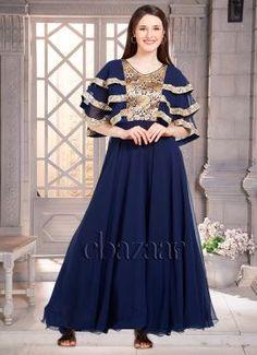 Latest EthnoVogue Fashion Dresses Online For Women's - Cbazaar Anarkali Gown, Dress Skirt, Ethnic, Bollywood, Fashion Dresses, Vogue, Gowns, Bridal, Skirts