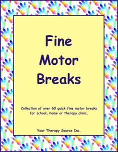 Fine Motor Stations Series 2 - Your Therapy Source Sensory Activities Toddlers, Motor Activities, Occupational Therapy, Speech Therapy, Sensory Integration, Sensory Processing Disorder, Parents As Teachers, Fine Motor Skills, Pediatrics