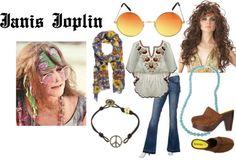Janis Joplin Halloween costume