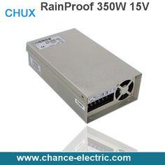 AC 110V 220V to DC 15V 350W Voltage Transformer Switch power supplies for Led Strip Rainproof(FY350W-15V)