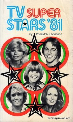 """""""TV Super Stars of by Ronald W. Lackmann featuring Loni Anderson, Tony Danza, Adam Rich, John Schneider, and Catherine Bach. 1980s Tv Shows, Old Tv Shows, Tony Danza, Vintage Television, Cartoon Photo, Saturday Morning Cartoons, Vintage Tv, Tv Guide, Teenage Years"""