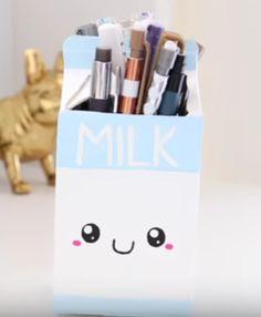 Cute pencil holder made by Nim C.