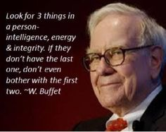 Of course there is good in everyone but how important is integrity to you?