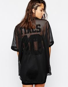 This Is A Love Song Sheer Mesh Baseball Button Up Jersey T-Shirt