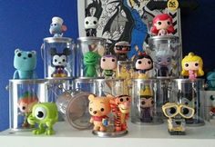 Great way to display funko pops minis.