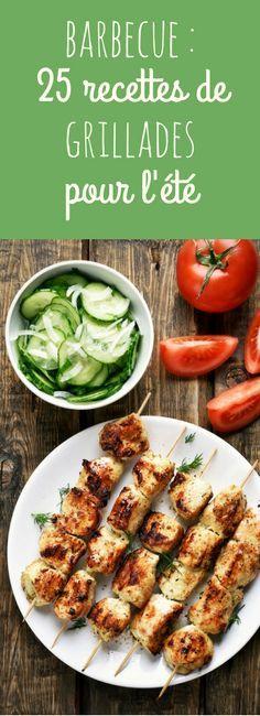 Brochettes, gambas, sardines... 25 recettes faciles de grillades au barbecue pour l'été !