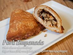 This empanada recipe has ground pork and vegetables filling. Empanada has it's origin from Spain and it is one of the many Filipino cuisine with Hispanic influence. Empanada Recipe Panlasang Pinoy, Filipino Pork Empanada Recipe, Ground Pork Empanadas Recipe, Ground Pork Filipino Recipe, Pinoy Recipe, Meat Recipes, Mexican Food Recipes, Chicken Recipes, Kitchens