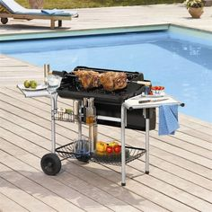 Barbecue charbon de bois GRAND CHEF prix promo vente flash Cdicount 406,21 € TTC