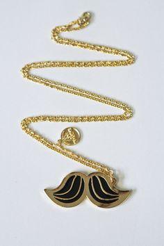 123Klan / Mustache Necklace