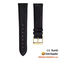 Black Matte Suede Leather Watches Strap 3W-S-L27, click picture to designs your own brand watch.