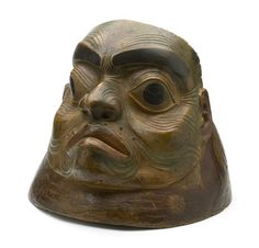 A Tlingit war helmet (Anchorage Museum)