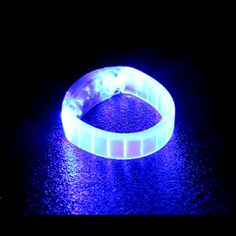 Gel Light Bracelet - Blue or Red. Concerts, parties, Light up your trick-or-treater!