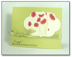 @Tanya Walker Can I have a few Sympathy cards as well?