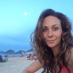 The moon rises over Rio #lua #riodejaneiro #nofilter #todaysoffice by gracesmithtv