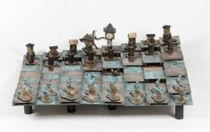 Check these collection of the most cool and unique chess sets from all over the world.   Strato Chess Set    [ link ]   Strato Chess is a c...