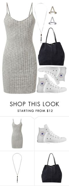 """1088."" by adc421 ❤ liked on Polyvore featuring Converse, Dorothy Perkins and MANGO"