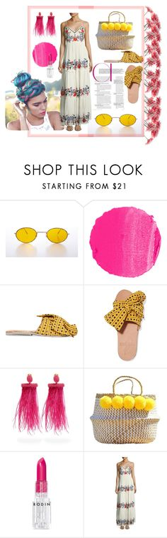 """Boho-hobo"" by sonali0495 on Polyvore featuring NARS Cosmetics, Brother Vellies, Oscar de la Renta, Rodin, Glamorous and boho"