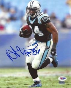 DeAngelo Williams Autographed 8x10 Photo Carolina Panthers PSA/DNA Stock #14999