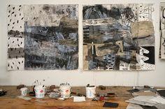 Alfredo Gisholt, Studio view, 2013