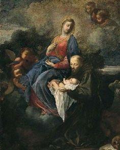 Pintor Antonio Giuseppe Luchi, conocido como El Diecimino, nacido en Diecimo, Italia, 1709-1774.