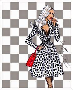 Hayden Williams Fashion Illustrations: Pop Art by Hayden Williams: 'Retro-A-Go-Go'