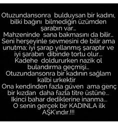 Guzel anlatim.yazanin eline saglik...anlayana'✔ Karma, Passion, Math Equations, Love, Sayings, Words, History, Quotes, Inspiration