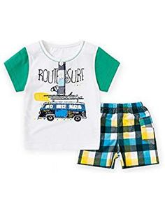 T Shirt Pants Clothes Outfits Shorts. * You can get additional details at the image link. (This is an affiliate link) Overalls, Shorts, Pants Outfit, Boy Fashion, Latest Fashion Trends, Image Link, Boys, Swimwear, T Shirt