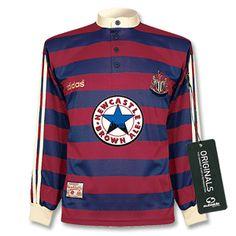 95 96 Newcastle Away L S Shirt