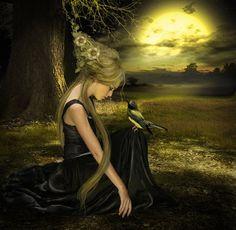 Enchanted moonlight!
