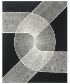 Jane Masters' Intricate Abstractions Made Using Scratchboard - Beautiful/Decay Artist & Design
