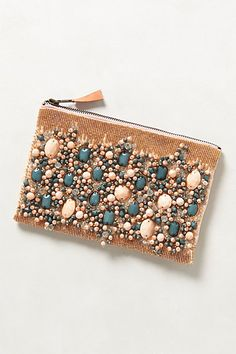 Fayruz Jewelled Clutch #anthropologie